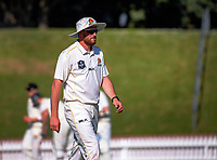 Iain McPeake on day two of the Plunket Shield cricket match between the Wellington Firebirds and Otago Volts at the Hawkins Basin Reserve in Wellington, New Zealand on Tuesday, 31 October 2017. Photo: Dave Lintott / lintottphoto.co.nz