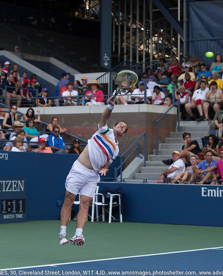 Richard Gasquet..Tennis - US Open - Grand Slam -  New York 2012 -  Flushing Meadows - New York - USA - Sunday 2nd September  2012. .© AMN Images, 30, Cleveland Street, London, W1T 4JD.Tel - +44 20 7907 6387.mfrey@advantagemedianet.com.www.amnimages.photoshelter.com.www.advantagemedianet.com.www.tennishead.net