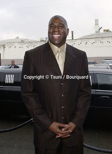 Soul Train Music Awards 2001 was at the Shrine Auditorium in Los Angeles   2/28/2001<br />           -            MagicJohnson01.jpg