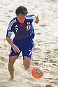 Takeshi Kawaharazuka (JPN), SEPTEMBER 4, 2011 - Beach Soccer : FIFA Beach Soccer World Cup Ravenna-Italy 2011 Group D match between Ukraine 4-2 Japan at Stadio del Mare, Marina di Ravenna, Italy, (Photo by Enrico Calderoni/AFLO SPORT) [0391]