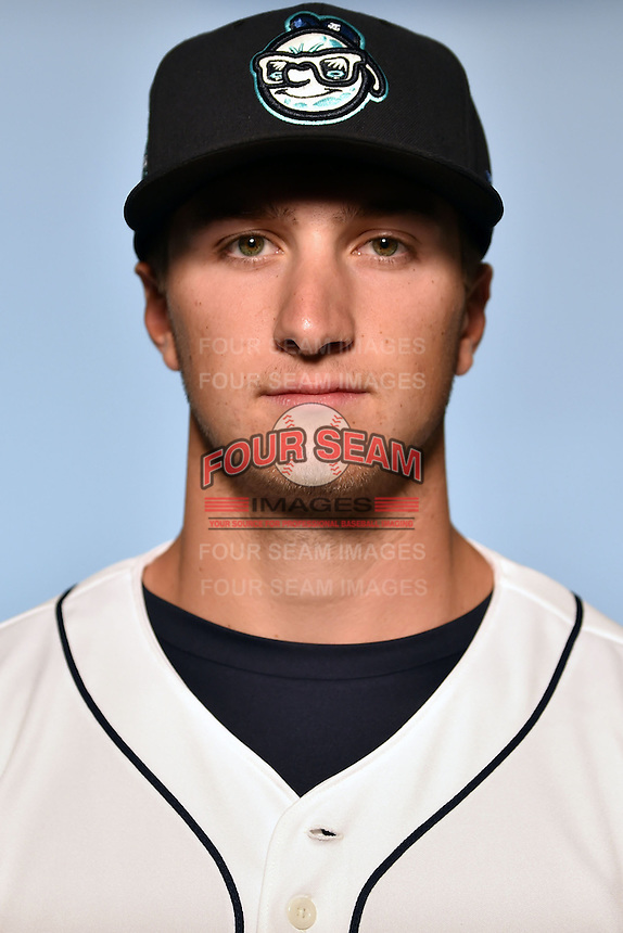 Asheville Tourists pitcher Ryan Castellani (6) on April 7, 2015 in Asheville, North Carolina. (Tony Farlow/Four Seam Images)