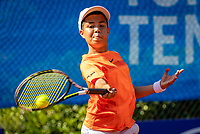 Hilversum, Netherlands, Juli 29, 2019, Tulip Tennis center, National Junior Tennis Championships 12 and 14 years, NJK, Boris van Ruiten or Jonathan Raap<br /> Photo: Tennisimages/Henk Koster