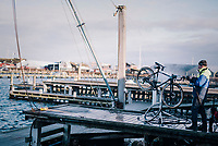 cleaning station with a vista for the Dutch National Team<br /> <br /> <br /> UCI 2019 Cyclocross World Championships<br /> Bogense / Denmark<br /> <br /> &copy;kramon