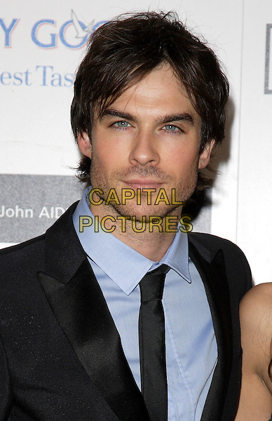 IAN SOMERHALDER .The Grey Goose Character & Cocktails Ball, Gorsvenor House Hotel, London, England..December 13th, 2009.headshot portrait black blue stubble facial hair .CAP/ROS.©Steve Ross/Capital Pictures.