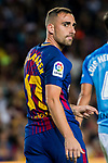 Francisco Alcacer Garcia, Paco Alcacer, of FC Barcelona looks on during the La Liga 2017-18 match between FC Barcelona and Malaga CF at Camp Nou on 21 October 2017 in Barcelona, Spain. Photo by Vicens Gimenez / Power Sport Images