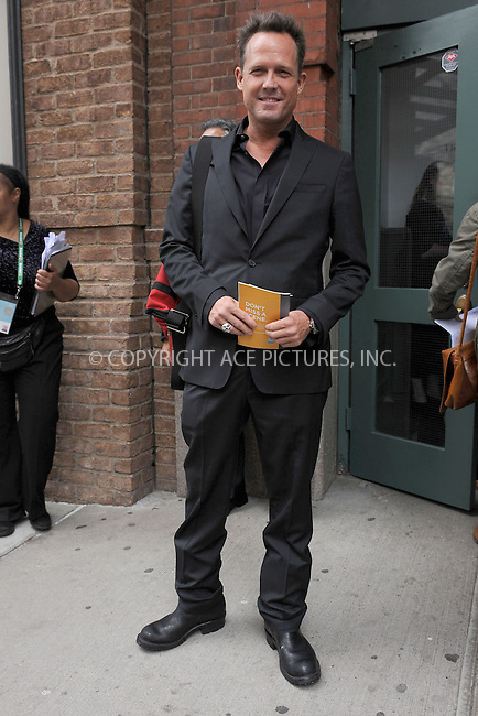 WWW.ACEPIXS.COM . . . . . .April 18, 2013...New York City....Dean Winters at a lunch for the Tribeca Film Festival on April 18, 2013 in New York City ....Please byline: KRISTIN CALLAHAN - ACEPIXS.COM.. . . . . . ..Ace Pictures, Inc: ..tel: (212) 243 8787 or (646) 769 0430..e-mail: info@acepixs.com..web: http://www.acepixs.com .