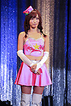 Adult film actress Moe Amatsuka attends the Japan Adult Expo 2015 on November 17, 2015, Tokyo, Japan. 69 film production companies, novelty goods makers and over a hundred AV actresses will attend the second annual two day expo in Toyosu Pit from November 17 to 18. Organizers aim to give fans the opportunity to meet their idols. (Photo by Rodrigo Reyes Marin/AFLO)