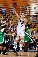 6 February 2010:  FIU's Michelle Gonzalez (5) shoots in the second half as the FIU Golden Panthers defeated the North Texas Mean Green, 72-55, at the U.S. Century Bank Arena in Miami, Florida.