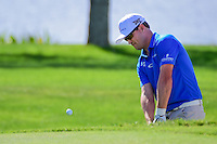 Zach Johnson (USA) chips on to 9 during round 2 of the Honda Classic, PGA National, Palm Beach Gardens, West Palm Beach, Florida, USA. 2/24/2017.<br /> Picture: Golffile | Ken Murray<br /> <br /> <br /> All photo usage must carry mandatory copyright credit (&copy; Golffile | Ken Murray)