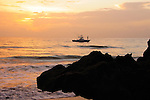 Sunrise at the House of Refuge on Hutchinson Island, Florida, US