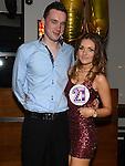 Christina Mackin celebrating her 21st birthday in Brú with boyfriend Peter McGuinness. Photo: Colin Bell/pressphotos.ie