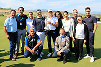 Joakim Lagergren (SWE) &amp; Management staff at prize giving the final round of the Rocco Forte Sicilian Open played at Verdura Resort, Agrigento, Sicily, Italy 13/05/2018.<br /> Picture: Golffile | Phil Inglis<br /> <br /> <br /> All photo usage must carry mandatory copyright credit (&copy; Golffile | Phil Inglis)