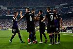 CD Leganes's players celebrate goal during La Liga match. September 01, 2018. (ALTERPHOTOS/A. Perez Meca)