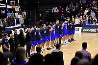 NBL - Cigna Saints v Southland Sharks at TSB Bank Arena, Wellington, New Zealand on Thursday 25 April 2019. <br /> Photo by Masanori Udagawa. <br /> www.photowellington.photoshelter.com