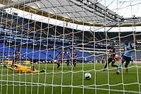16th May 2020, Commerzbank-Arena, Frankfurt, Germany; Bundesliga football, Eintracht Frankfurt versus Borussia Moenchangladbach; Goal scored for 0:1 by Alassane Plea Borussia Moenchengladbach