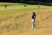 Jay Varkey (AM) on the 11th fairway during Round 1 of the 2015 Alfred Dunhill Links Championship at Kingsbarns in Scotland on 1/10/15.<br /> Picture: Thos Caffrey | Golffile
