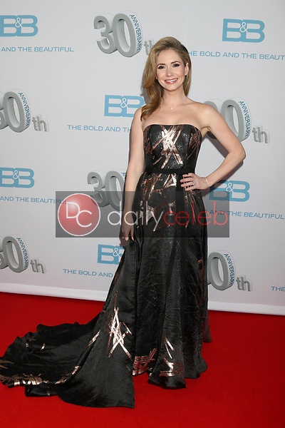 "Ashley Jones<br /> at the ""The Bold and The Beautiful"" 30th Anniversary Party, Clifton's Downtown, Los Angeles, CA 03-18-17<br /> David Edwards/DailyCeleb.com 818-249-4998"