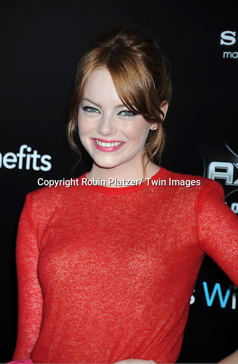 "Emma Stone attending the New York Premiere of ""Freinds With Benefits"" on July 18, 2011 at The Ziegfeld Theatre in New York City. The movie stars Justin Timberlake, Mila Kunis, Emma Stone, Patricia Clarkson, Jenna Elfman and Bryan Greenberg."