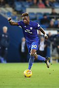 31st October 2017, Cardiff City Stadium, Cardiff, Wales; EFL Championship football, Cardiff City versus Ipswich Town; Omar Bogle of Cardiff City with the ball