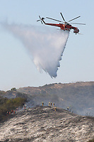 Rustic Canyon Fire<br />