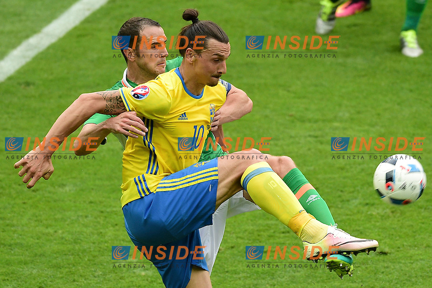 Zlatan IBRAHIMOVIC (swe)  <br /> Paris 13-06-2016 Stade de France Football Euro2016 Ireland - Sweden / Irlanda - Svezia Group Stage Group E. Foto JB Autissier Panoramic / Insidefoto