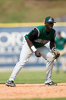 Augusta shortstop Juan Jean (35) on defense versus Kannapolis at Fieldcrest Cannon Stadium in Kannapolis, NC, Monday, September 3, 2007.