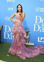 CENTURY CITY, CA - AUGUST 5: Vanessa Hudgens at the Dog Days World Premiere at The Atrium in Century City, California on August 5, 2018. <br /> CAP/MPI/FS<br /> &copy;FS/MPI/Capital Pictures