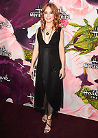 PASADENA, CA - JANUARY 13:  Alicia Witt at the Hallmark Channel and Hallmark Movies & Mysteries Winter 2018 TCA Press Tour at Tournament House on January 13, 2018 in Pasadena, California. (Photo by Scott Kirkland/PictureGroup)