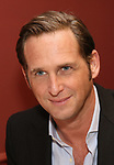 """Josh Lucas from the cast of """"The Parisian Woman"""" honored with a Sardi's Wall of Fame Portrait on February 28, 2018 at Sardi's in New York City."""