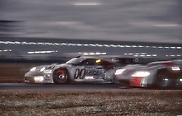Porsche 911 GT1 104 of Christophe Bouchut, Patrice Goueslard, Carl Rosenblad, and  Andre Ahrle, 3rd place,  	24 Hours of Daytona, Daytona International Speedway, Daytona Beach, FL,  February 1998.  (Photo by Brian Cleary/bcpix.com)