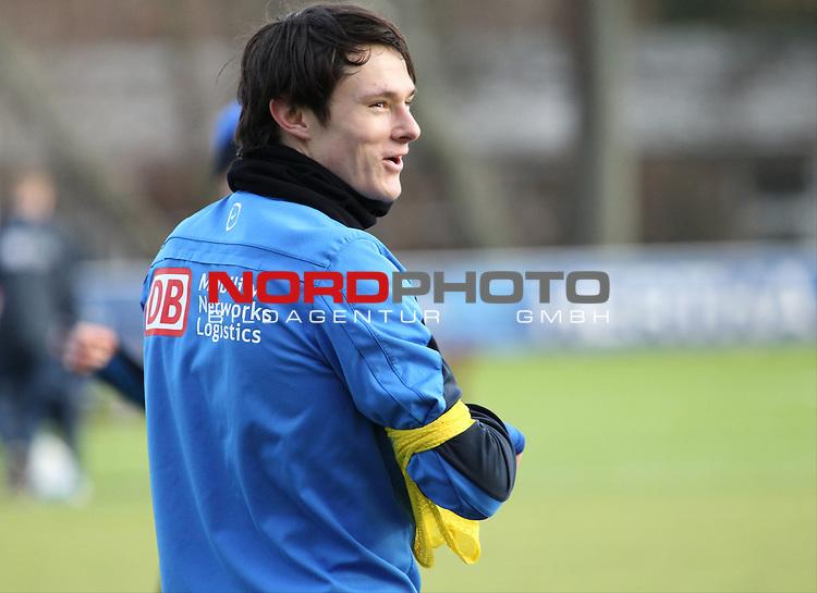 04.01.2014, Sportpark, Berlin, GER, 1.FBL, Hertha BSC , Training, im Bild Nico Schulz (Hertha BSC Berlin)<br /> <br />               <br /> Foto &copy; nordphoto /  Schulz