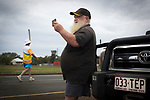 A man photographs Batonbearer William Roberts carrying the Baton as the Queen's Baton Relay visited Morven. In the host state of Queensland the Queen's Baton will visit 83 communities from Saturday 3 March to Wednesday 4 April 2018. As the Queen's Baton Relay travels the length and breadth of Australia, it will not just pass through, but spend quality time in each community it visits, calling into hundreds of local schools and community celebrations in every state and territory. The Gold Coast 2018 Commonwealth Games (GC2018) Queen's Baton Relay is the longest and most accessible in history, travelling through the Commonwealth for 388 days and 230,000 kilometres. After spending 100 days being carried by approximately 3,800 batonbearers in Australia, the Queen's Baton journey will finish at the GC2018 Opening Ceremony on the Gold Coast on 4 April 2018.