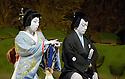 Kabuki from Tokyo. Kasane with Ebizo Ichikawa XI [R],Kamejiro Ichikawa II. Opens at Sadlers Wells Theatre on 31/5/06. CREDIT Geraint Lewis