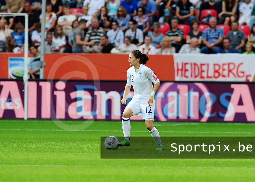 Fifa Women's World Cup Germany 2011 : England - France - at Leverkusen : Karen Carney.foto DAVID CATRY / Vrouwenteam.be