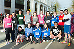 Castleisland Presentation Secondary school and St Patricks College Tranistion year students who ran in the Killarney Good Friday 5 Miler