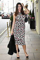 Lisa Snowdon<br /> Future Dreams Ladies Lunch, United for Her, Breast cancer charity's annual lunch to raise funds for further research and new treatments. Held at The Savoy Hotel, London, England on October 09, 2017.<br /> CAP/JOR<br /> &copy;JOR/Capital Pictures