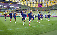 EURO 2012 - POLAND - Gdansk - 17 JUNE 2012 -  Croatia National Team Official MD-1 Training Session at PGE Arena Gdansk.