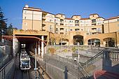 Memorial Park Station, Metro Gold Line, Pasadena, Los Angeles County, California, USA