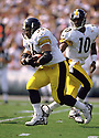 Pittsburgh Steelers Jerome Bettis (36) during a game from his 1997 season with the Pittsburgh Steelers. Jerome Bettis played for 13 seasons with 2 different team, was a 6-time Pro Bowler and was inducted into the Pro Football Hall of Fame in 2015.(SPORTPICS)