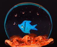 glass goldfish