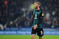 Mike van der Hoorn of Swansea City in action during the Sky Bet Championship match between Huddersfield Town and Swansea City at The John Smith's Stadium in Huddersfield, England, UK. Tuesday 26 November 2019