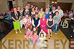 Tim and Bridie Bartlett, Coolgrain Park, Killarney, pictured with family and friends as they celebrated their 40th wedding anniversary in the Heights Hotel, Killarney on Saturday night.