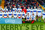 The Dingle team before the Semi Final of the Kerry Senior Football Championship between Dingle and East Kerry at Austin Stack Park on Sunday.