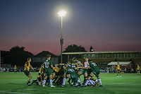 General view of match action during the Greene King IPA Championship match between Ealing Trailfinders and London Irish Rugby Football Club  at Castle Bar, West Ealing, England  on 1 September 2018. Photo by David Horn.