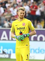 Torwart Lukas Hradecky (Eintracht Frankfurt) - 21.04.2018: Eintracht Frankfurt vs. Hertha BSC Berlin, Commerzbank Arena