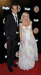 A pregnant Amy Poehler and husband Will Arnett at the Entertainment Tonight 2008 Emmy Awards Party at the Walt Disney Concert Hall Los Angeles, Ca. September 21, 2008