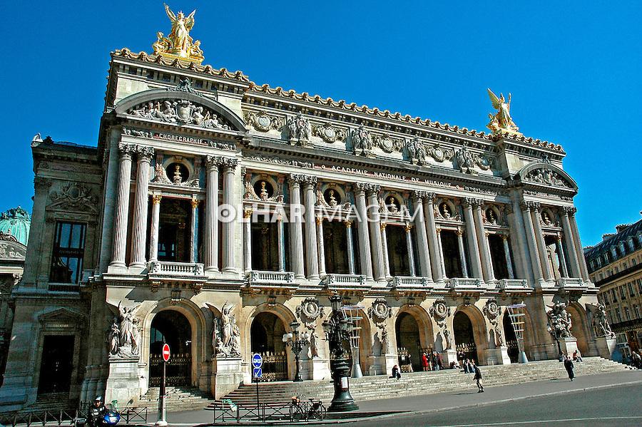 Teatro da Opera em Paris. França. 2005. Foto de Dudu Cavalcanti.
