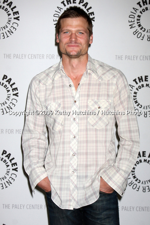 """Bailey Chase  arriving at the """"Saving Grace"""" Event at the Paley Center for Media in Beverly Hills , CA on June 13, 2009.  .©2009 Kathy Hutchins / Hutchins Photo"""