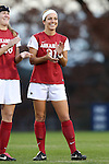 22 November 2013: Arkansas' Evan Palmer (31). The University of Arkansas Razorbacks played the Saint John's University Red Storm at Koskinen Stadium in Durham, NC in a 2013 NCAA Division I Women's Soccer Tournament Second Round match. Arkansas won the game 1-0.