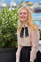 CANNES, FRANCE. May 14, 2019: Elle Fanning at the photocall for Jury at the 72nd Festival de Cannes.<br /> Picture: Paul Smith / Featureflash